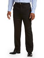 Ralph by Ralph Lauren Linen Flat-Front Dress Pants