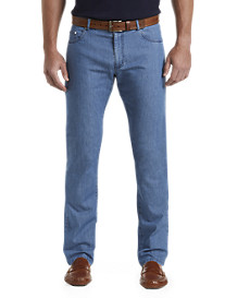 Paul & Shark® 5-Pocket Chambray Denim Pants