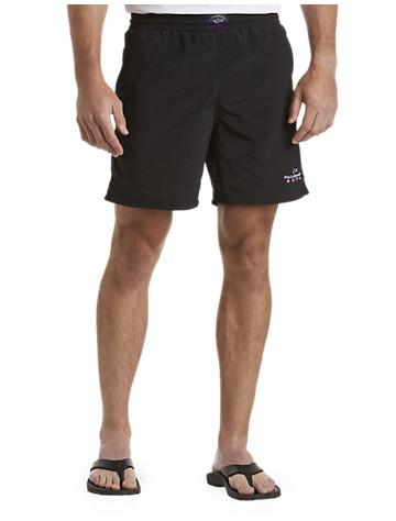 Big & Tall Paul & Shark® Logo Swim Trunks D5269