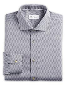 Robert Graham® Esquire Tonal Squares Dress Shirt