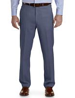 Ballin® Comfort-EZE Textured Flat-Front Dress Pants