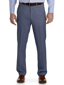 Ballin® Comfort-EZE Textured Flat-Front Dress Pants