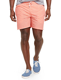 Polo Ralph Lauren® Mini Gingham Traveler Swim Shorts