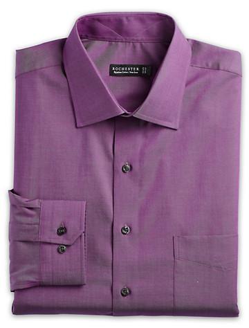 Rochester Non-Iron Iridescent Chambray Dress Shirt - $89.5