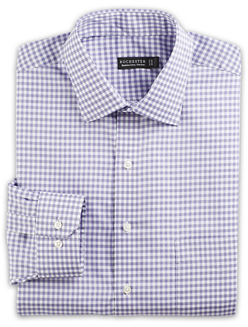 Rochester Non-Iron Gingham Dress Shirt - $89.5