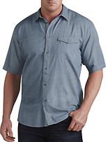 Calvin Klein Jeans® Discharge Dot Print Sport Shirt