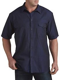 Calvin Klein Jeans® Crosshatch Utility Shirt