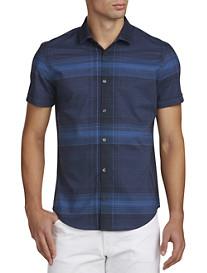 Calvin Klein® Sport Plaid Sport Shirt