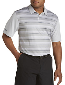 adidas® Golf climachill™ Block Stripe Polo