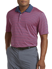 adidas® Golf 2-Stripe Polo