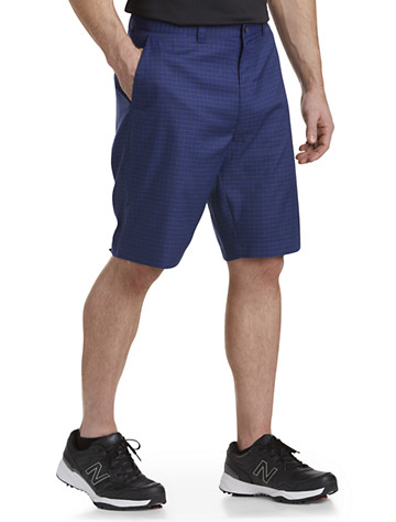 Callaway® Flat-Front Plaid Shorts ( Active Bottoms )
