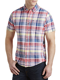 Tommy Hilfiger® Meli Plaid Oxford Sport Shirt