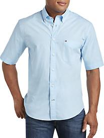 Tommy Hilfiger® Maxwell Solid Poplin Sport Shirt