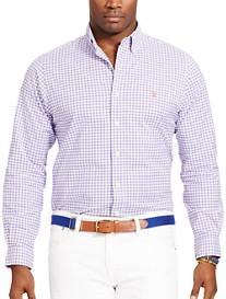 Polo Ralph Lauren® Gingham Stretch Oxford Sport Shirt
