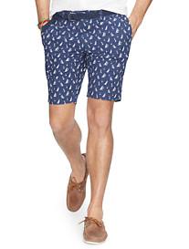 Polo Ralph Lauren® Sailboat-Print Poplin Shorts