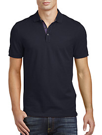Michael Kors® Pattern-Trim Piqué Polo