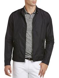 Michael Kors® Lightweight Nylon Moto Jacket