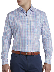 Peter Millar® Multicolor Tattersall Plaid Sport Shirt