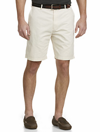 Peter Millar® Lightweight Twill Flat-Front Shorts