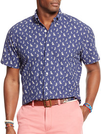 Polo Ralph Lauren® Sailboat-Print Oxford Sport Shirt