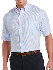 Brooks Brothers® Stripe Irish Linen Sport Shirt