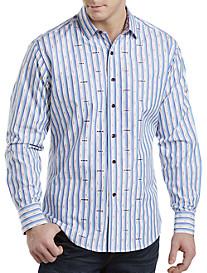 Robert Graham® Saguaro Stripe Sport Shirt