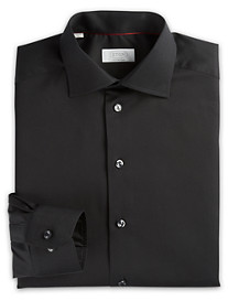 Eton® Solid Twill Dress Shirt