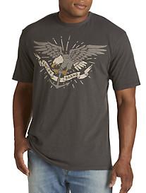 Lucky Brand® Eagle & Anchor Graphic Tee