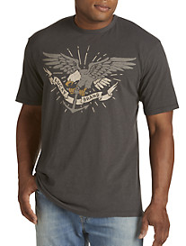 Lucky Brand® Eagle & Anchor Graphic Tee