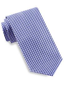 Brioni Small Lattice/Dots Silk Tie