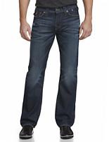 True Religion® Ricky Straight Jeans – Block City Wash