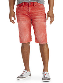 True Religion® Ricky Relaxed Straight Corduroy Cut-Off Shorts