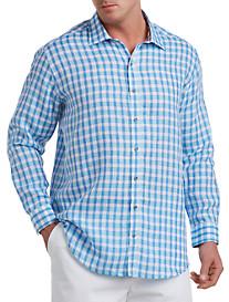 Rochester Check Linen Sport Shirt