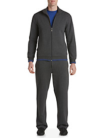 Robert Graham® Contrast-Tipped French Terry Lounge Set