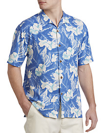 Tommy Bahama® Bon Jour Blooms Silk Camp Shirt