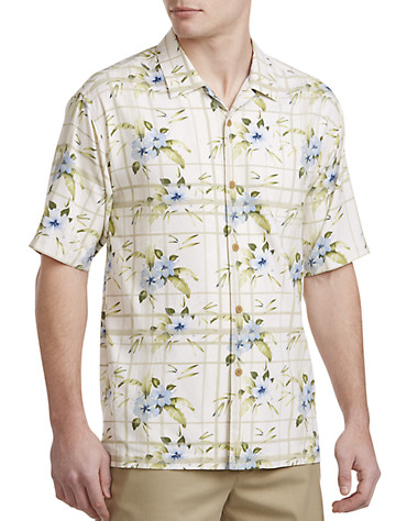 Tommy bahama camp shirt from destination xl for Tommy bahama catalina twill silk camp shirt