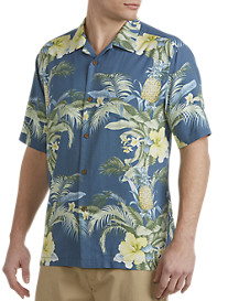 Tommy Bahama® Shut the Frond Door IslandZONE® Camp Shirt