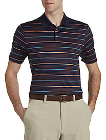Cutter & Buck™ Helios Mercerized Stripe Polo