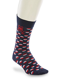 Psycho Bunny® Dot Dress Socks