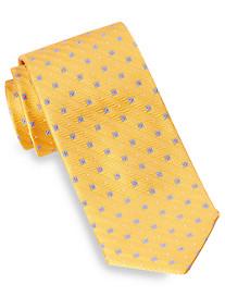 Robert Talbott Square Diagonal Neat Silk Tie
