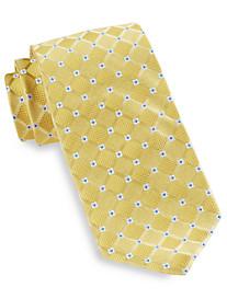 Robert Talbott Diamond Neat Floral Silk Tie