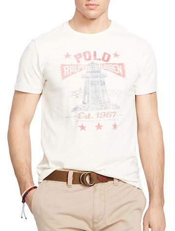 Polo Ralph Lauren® Lighthouse Graphic Tee