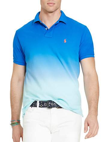 Polo Ralph Lauren® Dip-Dyed Ombré Polo