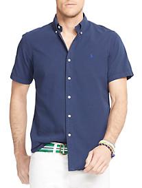 Polo Ralph Lauren® Solid Seersucker Sport Shirt
