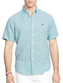Polo Ralph Lauren® Gingham Linen Sport Shirt