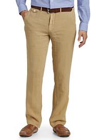 Polo Ralph Lauren® Flat-Front Linen Pants
