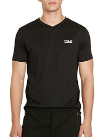 Polo Sport Micro-Dot Jersey V-Neck T-Shirt