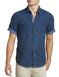 Buffalo David Bitton® Slub Stripe Sport Shirt