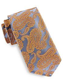 Robert Talbott Best of Class Exec Paisley Herringbone Silk Tie