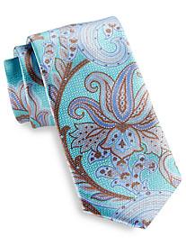 Robert Talbott Best of Class Carmel Print Paisley Silk Tie
